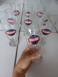 Taças de cerveja marca brahma chopp