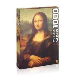 Quebra - Cabeça 1000 peças Monalisa - Grow