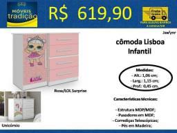 Cômoda Lisboa/ Lol e Unicórnio