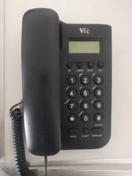 Telefone Fixo de Mesa com Identificador de Chamadas