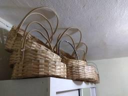 Cestas feitas de Bambu
