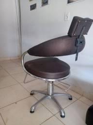 Cadeira hidráulica barbeiro