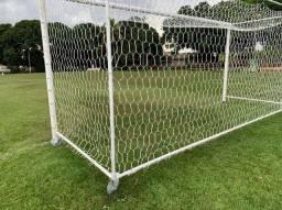 Título do anúncio: Rede para trave de campo de futebol