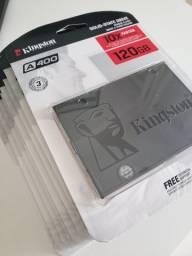 SSD 120GB Kingston Novo - Lacrado