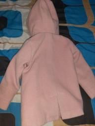 Casaco lã batida infantil
