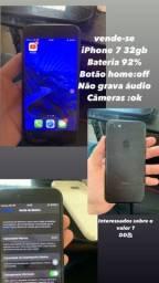 Título do anúncio: iPhone 7 32gb 550