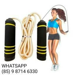 Corda  pular fit exercício físico