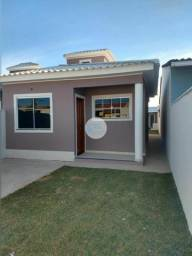 Título do anúncio: Linda casa , 2 quartos sendo 1 suite, área gourmet com churrasqueira e banheiro,