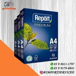 Título do anúncio: Resma de Papel A4 Report 500 folhas