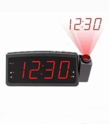 Rádio relógio  despertador C/projeto de hora