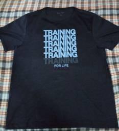 Camisa de treino de corrida,musculacao e etc