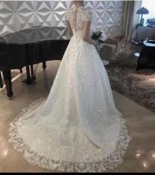 Vestido de noiva Ticiana Sampaio