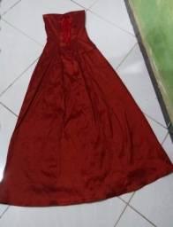 Título do anúncio: Vestido vermelho Festa