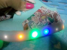 Tênis LED número 21/22