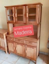 Armário de Cozinha Madeira no Boleto Bancário