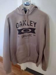 Título do anúncio: Moleton Oakley com capuz original