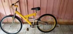 Vendo bicicleta em perfeito estado sem nenhum defeito, motivo quero uma com garupa