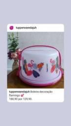 Título do anúncio: Boleira Big cake Tupperware
