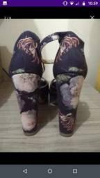 3 Sapatos feminino N 38