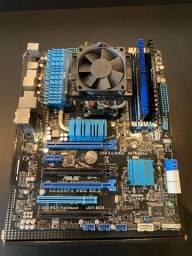 Kit Placa Mãe Asus + Ram + Processador