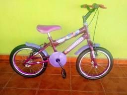 Bicicleta nova aro 16 infantil feminina