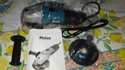 Esmerilhadeira Philco PEM01 850W nova na caixa Troco por Bicicleta aro 26 ou celular