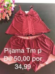 Vendo Pijama feminino adulto