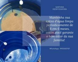 Limpeza de caixa d'água Santana dedetizadora