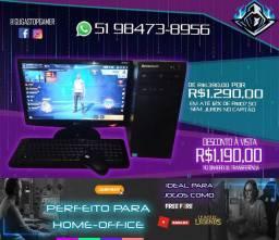 PC Completo e perfeito para Home-Office e jogos como FreeFire - em até 12x sem juros