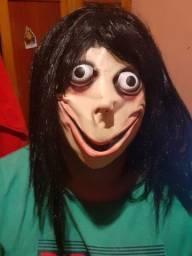 Máscara Momo Boneco Do Mal Assombrado Assustador Top