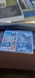 Jogos PSP Gta Vice City Stories e Medal of Honor Heroes 2