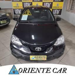 Título do anúncio: Toyota Etios XS 1.5 Flex 4P Aut. 2018 Entrada de R$8.000 + R$ Parcelas de R$1.499