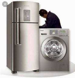 Técnico de geladeira e máquina de lavar