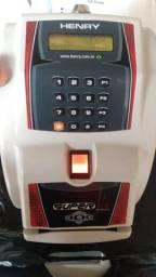 Relógio de ponto henry com biometria
