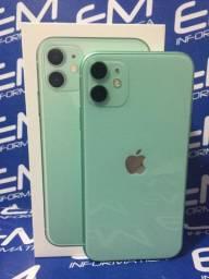 IPhone 11 64Gb Verde - Seminovo - com nota e garantia, somos loja fisica