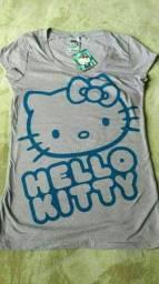 Título do anúncio: Camiseta Hello Kitty nova