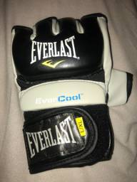 Luva MMA Everlast Usada Tamanho L/XL
