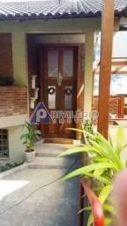 Casa de rua à venda, 4 quartos, 1 suíte, 3 vagas, Laranjeiras - RIO DE JANEIRO/RJ