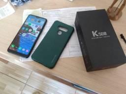 LG k50s com nota fiscal e garantia