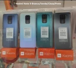 Redmi Note 9 128 GB/4GB Ram Branco/Verde/Cinza/Preto
