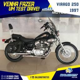 Virago 250 1997 Preta