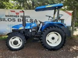 Trator New Holland TT3840 4x4 único dono impecável