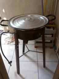 Fritadeira a gaz v/t