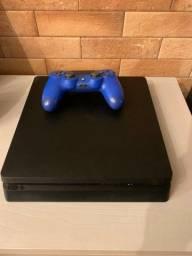 Título do anúncio: Playstation 4 PS4 Slim 1TB + 5 Jogos