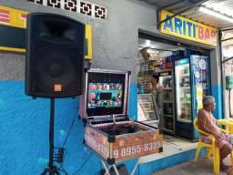 Alugo Maquina de karaoke e Jukebox