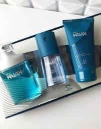 Kit Kaiak perfume 100ml + deo corporal 100ml + shampoo 150ml