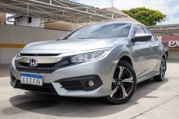 Civic EXL 2017 30000 km rodados extra