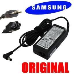 Carregador 19v 2.1a original Samsung Np500R4L-kwabr - novo - aceito cartão e pix