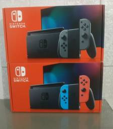 Console Nintendo switch 32gb novo lacrado