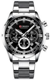 Relógio Curren 8355 Chumbo Original - Novo, Nota fiscal, Parcela sem juros